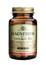 Solgar Vitamins Magnesium + B-6  100 tablets