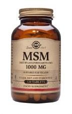Solgar Vitamins MSM 1000 mg  120 tablets