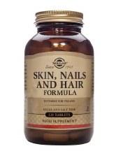 Solgar Vitamins Skin Nails & Hair 60 tabs