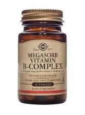 Solgar Vitamins Megasorb 50 B-complex  50 tabs