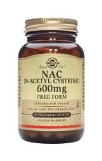 Solgar Vitamins Nac 600mg 60 vcaps