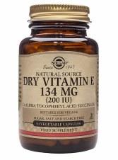 Solgar Vitamins Vitamin E 200 Iu  50 vcaps