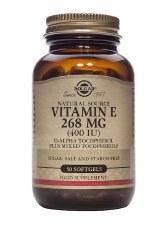 Solgar Vitamins Vitamin E 400 Iu  50 vcaps