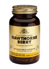 Solgar Vitamins Hawthorn Berry 100 vegetable capsules