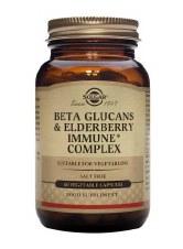 Solgar Vitamins Beta-Glucans Immune Complex 60 vcaps