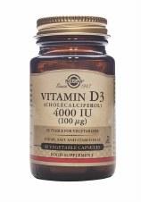 Solgar Vitamins Vitamin D3 4000iu 60 vcaps