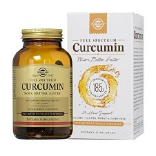 Solgar Vitamins Full Spectrum Curcumin 90 Softgels