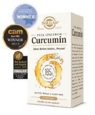 Solgar Vitamins Full Spectrum Curcumin 30 Softgels