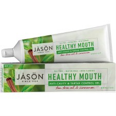Jason Natural Cosmetics    Healthy Mouth Co-Q10 Toothgel  170g