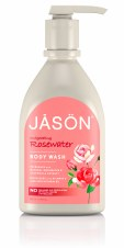 Jason Natural Cosmetics Organic Rosewater Body Wash 900ml