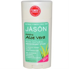 Jason Natural Cosmetics Organic Aloe Deodorant Stick 75g