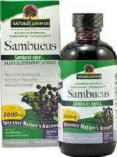 Nature's Answer Sambucus Black Elder Berry  120 ml