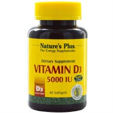 Nature's Plus Vitamin D3 5000iu 60