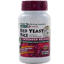 Nature's Plus Red Yeast RiceExtended Release 60