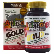 Nature's Plus Animal Parade Gold -Cherry 120 animals
