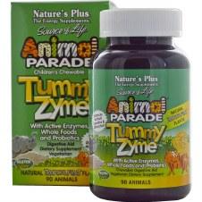 Nature's Plus Animal Parade Tummy Zyme 90 animals