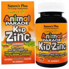 Nature's Plus Kid Zinc 90 lozenges