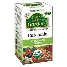 Nature's Plus Source Of Life Garden Curcumin 30 Capsules