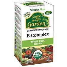 Nature's Plus Source Of Life Garden BComplex 60 Capsules