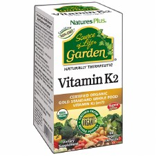 Nature's Plus Organic Garden Vitamin K2 60 vegecaps