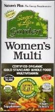 Nature's Plus SOL Garden Womens Multi 30 Tabs