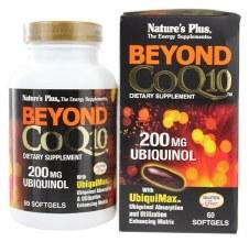 Nature's Plus Beyond CoQ10 200mg Ubiquinol 60 Softgels