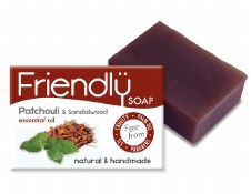 Friendly Soap Natural Patchouli Soap 95g