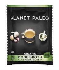 Planet Paleo Bone Broth Org Protein Herbal  10 Sachets