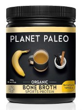 Planet Paleo Bone Broth Org Protein Banana 30 servings