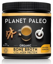Planet Paleo Bone Broth Org Protein Turmeri 225g