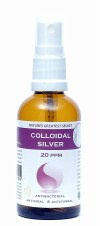 Nature's Greatest Secret Collodial Silver 20ppm Dropper 100ml
