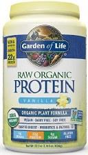 Garden of Life GL Organic Protein Vanilla 4