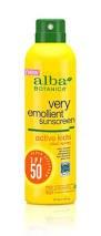 Alba Botanica Kids Sunscreen Spray SPF50 177ml
