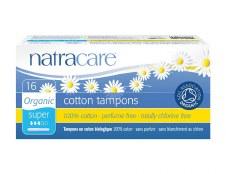 Natracare Regular tampons No Applicator 20pieces
