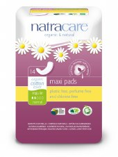 Natracare Regular press-on Towels 14pads
