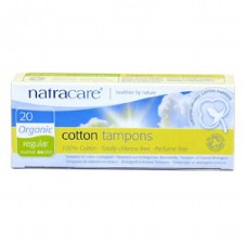Natracare Super Applicator Tampons 16pieces