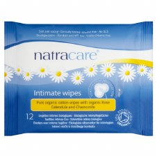 Natracare Feminine wipes 12wipes