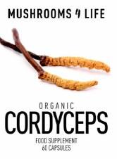Mushrooms 4 Life Organic Cordyceps - 60 Capsule 60 Capsules