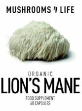 Mushrooms 4 Life Organic Lions Mane 60 Capsules