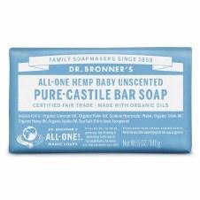 Dr Bronner Organic Baby Mild Soap Bar  140g