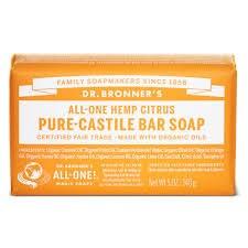 Dr Bronner Citrus Soap Bar 140g           140g
