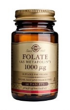 Solgar Vitamins  Folate 1000 g (as Metafolin) 60