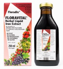 Floradix Floravital Yeast/Gluten Free 250ml