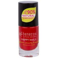 benecos Nail Polish (Vintage Red) 5