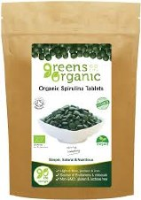 Greens Organic Spirulina Tablets 500mg 120 tablet