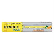 Rescue BBR Rescue Plus Lozeng 10 lozenges