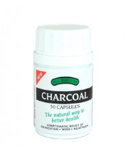 Braggs Charcoal Caps 50 capsule