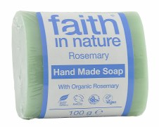 Faith in Nature Rosemary Vegetable Soap 100g