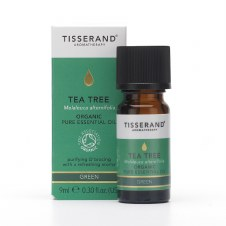 First Natural Brands TISSERAND Tea Tree Organic Essential Oil 9ml