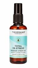 First Natural Brands TISSERAND Total De-Stress Massage Oil 100ml